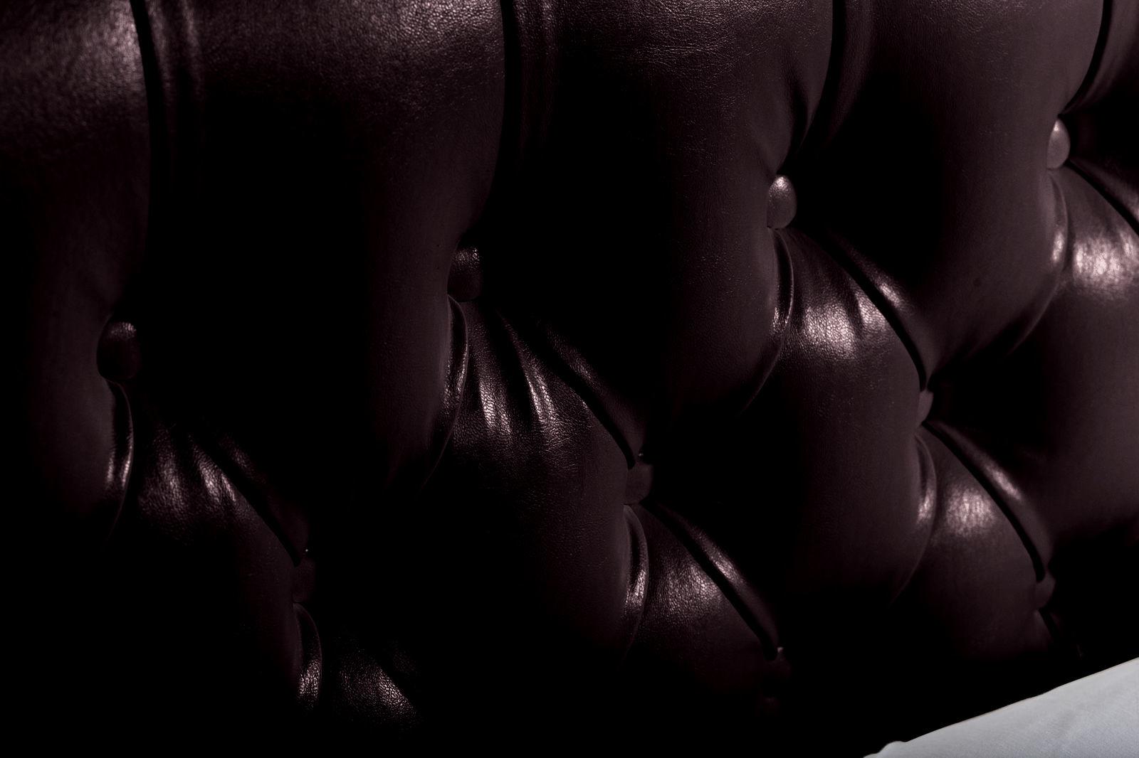 Мягкая кровать 200х160 Малибу вариант №1 с подъемным механизмом (Шоколад)