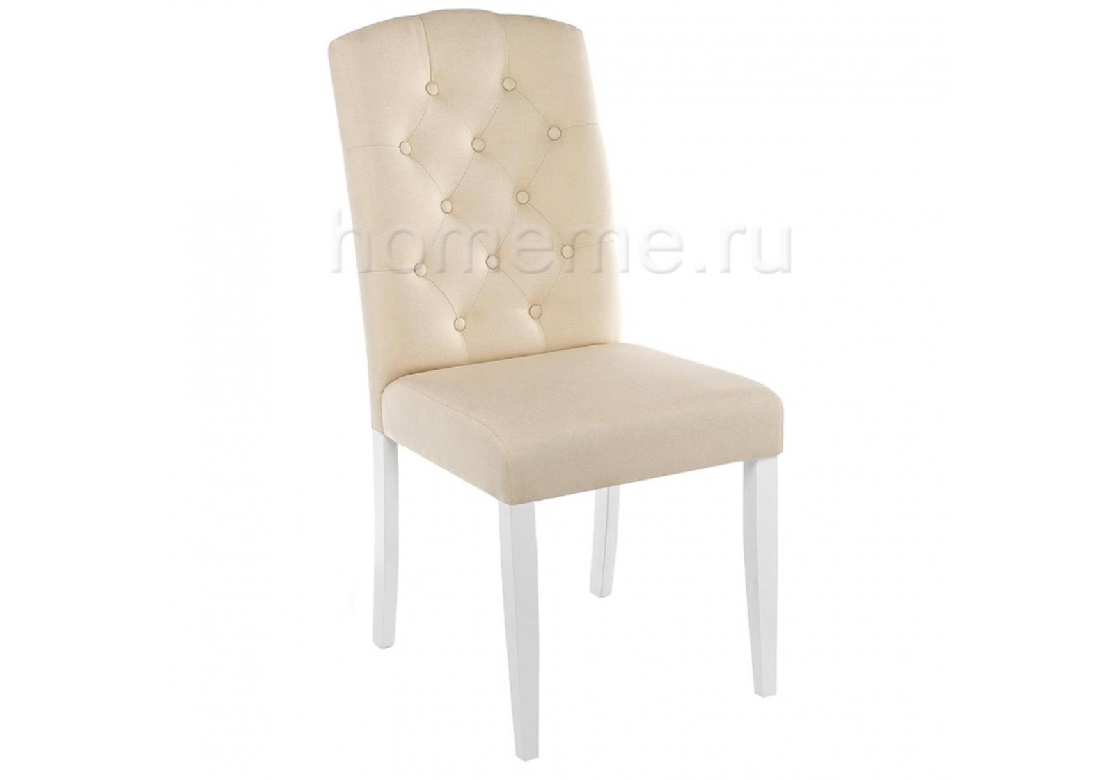 Стул HomeMe Menson white / fabric сream 11024 от Homeme.ru