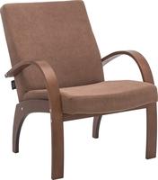 Кресло для отдыха Денди Орех, ткань Verona Brown